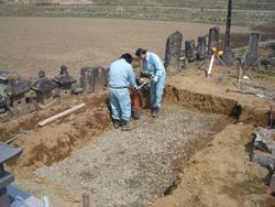 床掘り・転圧