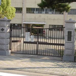 小学校の門柱