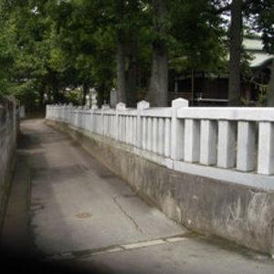 神社の石玉垣